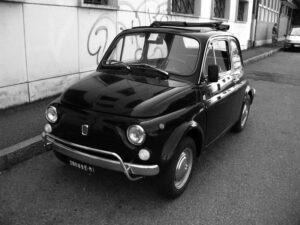 Fiat 500 B/N
