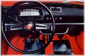 Interno Fiat 500 L d'epoca