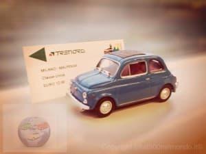 Fiat500 in viaggio per Malpensa