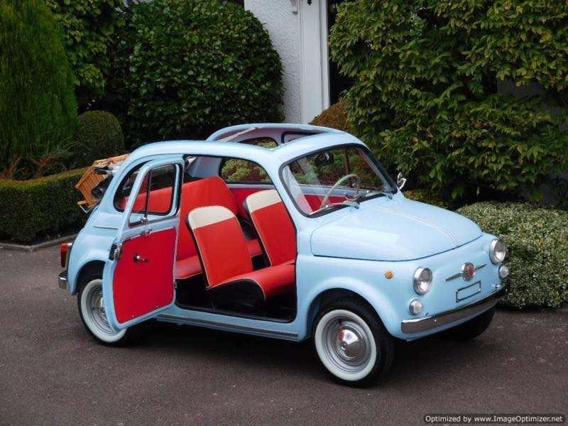 nuova fiat 500 D trasformabile 1964