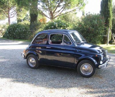 Fiat 500 fine restauro