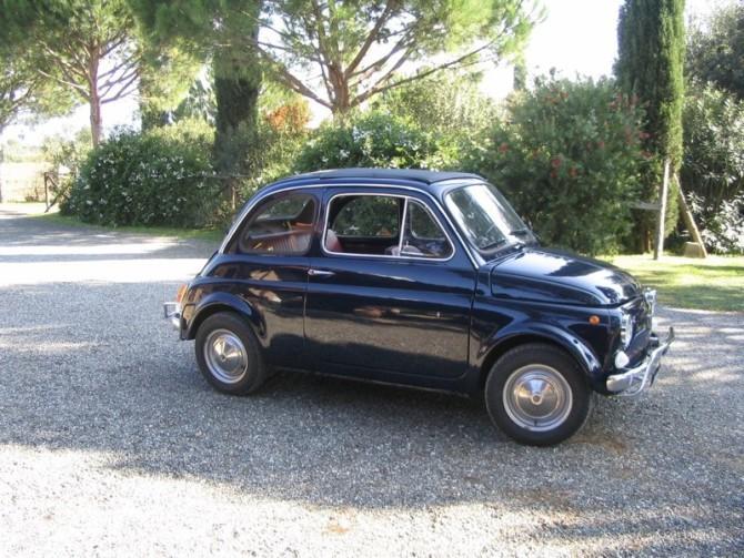 Storia della mia Fiat 500 d'epoca