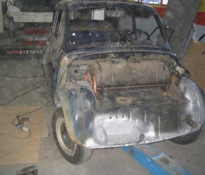 Fiat 500 inizio resturo