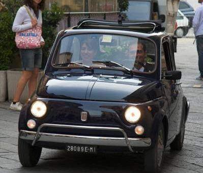 Fiat 500 al matrimonio