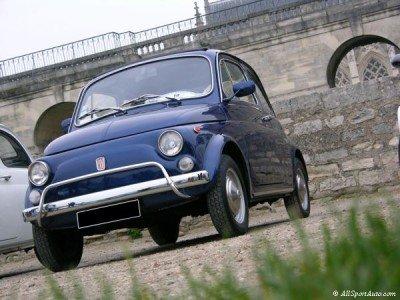 La Fiat 500 di Fra