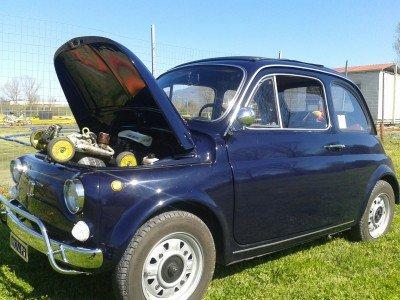 La Fiat 500 di Tognek