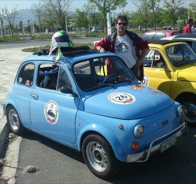 Fiat 500 of takis dimitrakopoulos