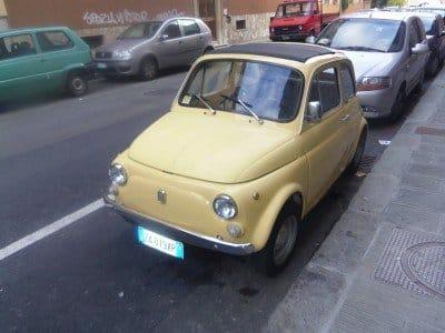 La Fiat 500 di Carlo 1975