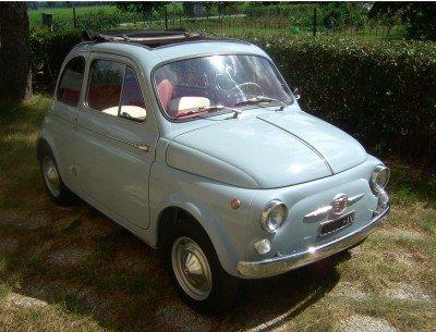 La Fiat di Manu