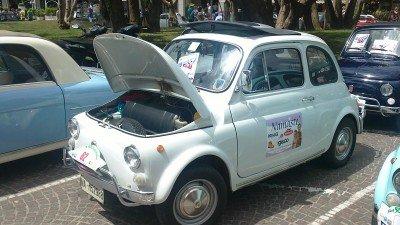 La Fiat 500 di Giovanni