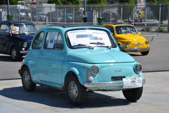 L' ultima Fiat 500 d'epoca