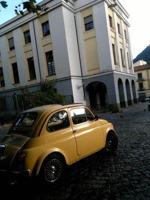 La Fiat 500 di enzo