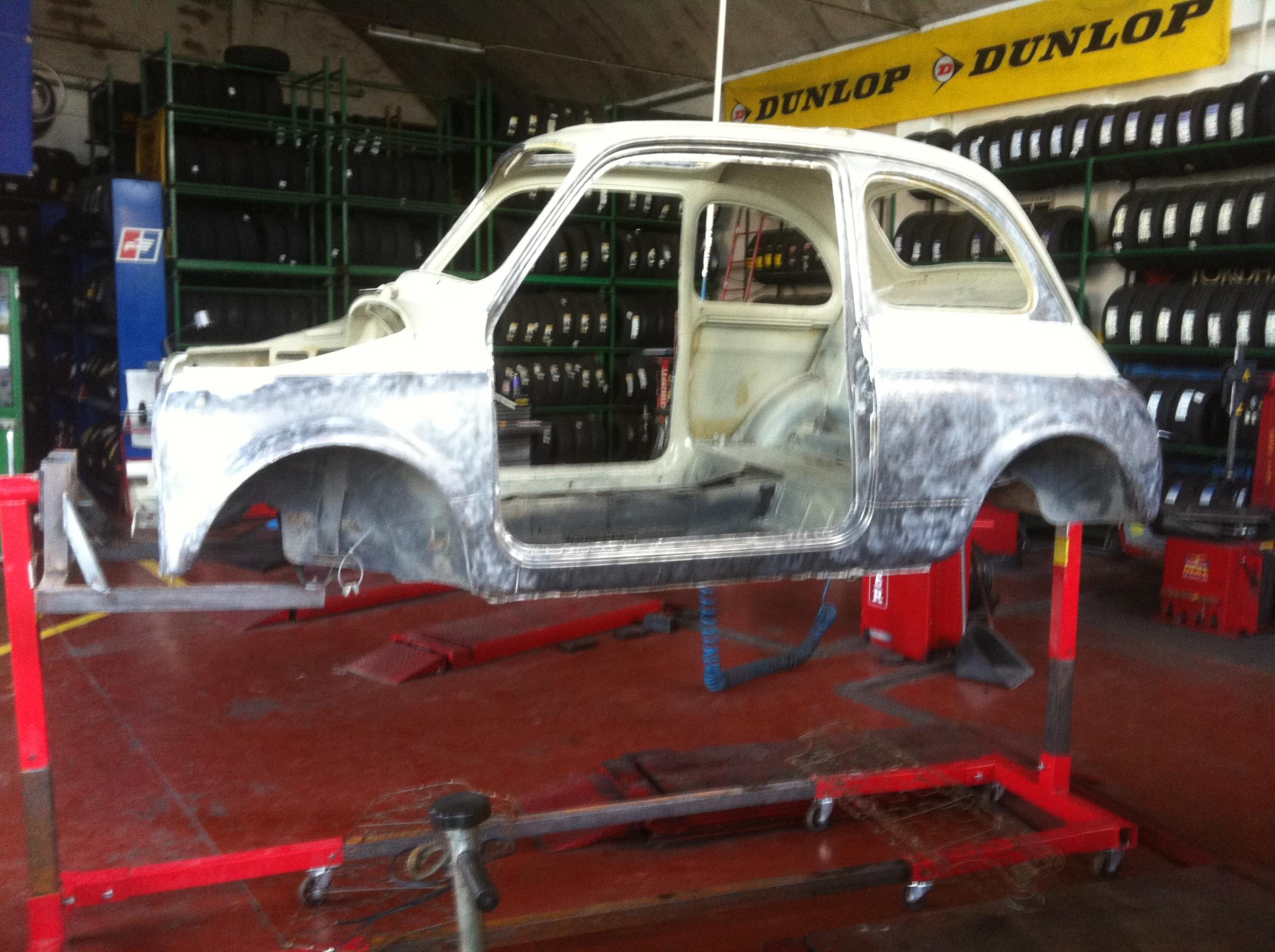 La Fiat 500 di Damiano
