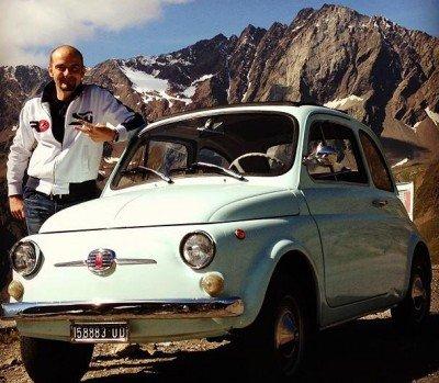 La Fiat Cinquecento di Matteo Giudici