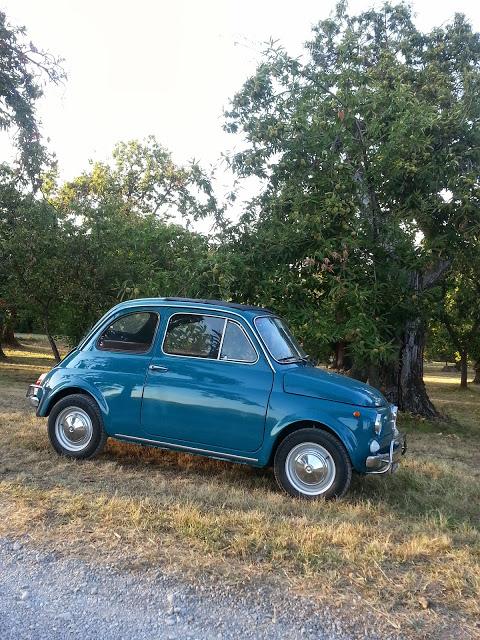 La Fiat 500 L d'epoca di Rolando