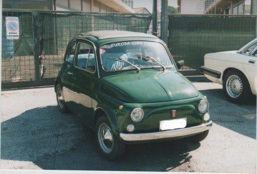 Fiat Cinquecento storica di Alessandra