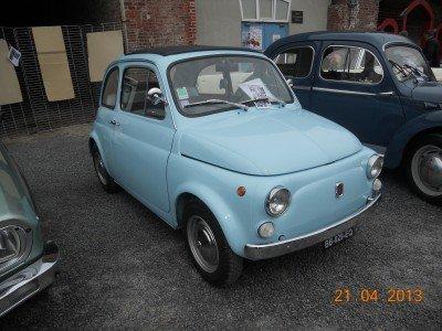 La Fiat Cinquecento di caruccio Ghislaine