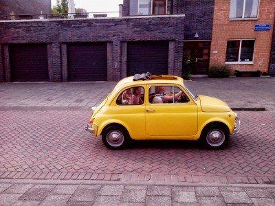 Fiat 500 L of Familia Peeters