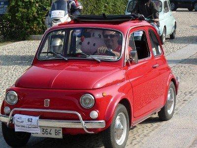 La Fiat Cinquecento storica di Renato