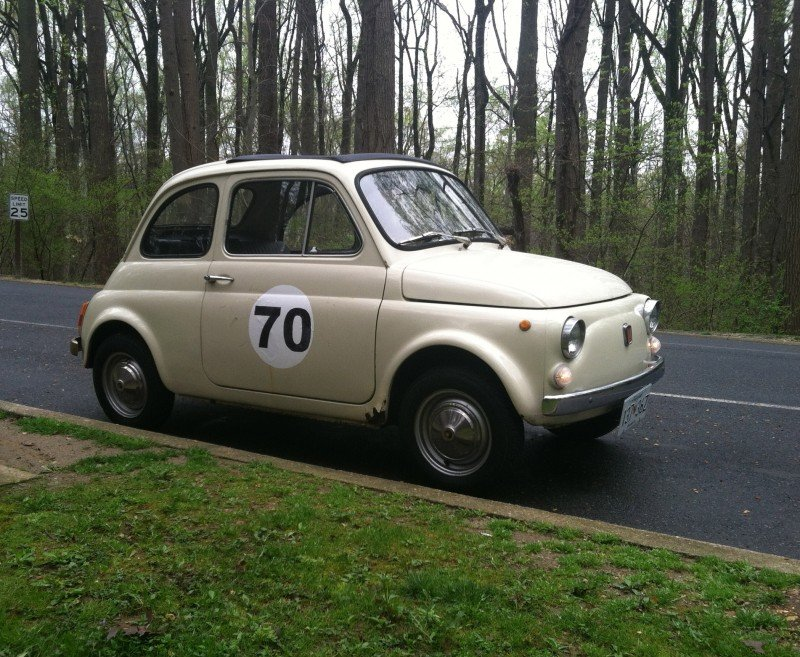 Rusty Fiat 500
