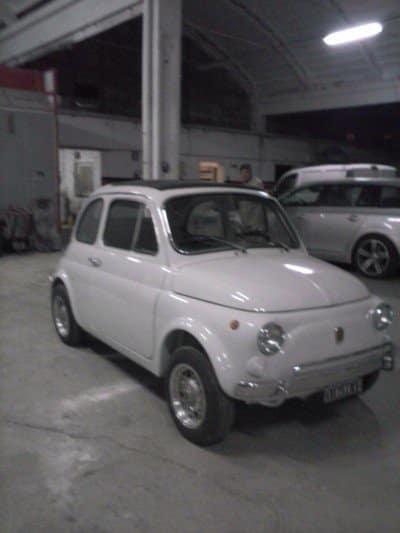La Fiat Cinquecento di Emilio