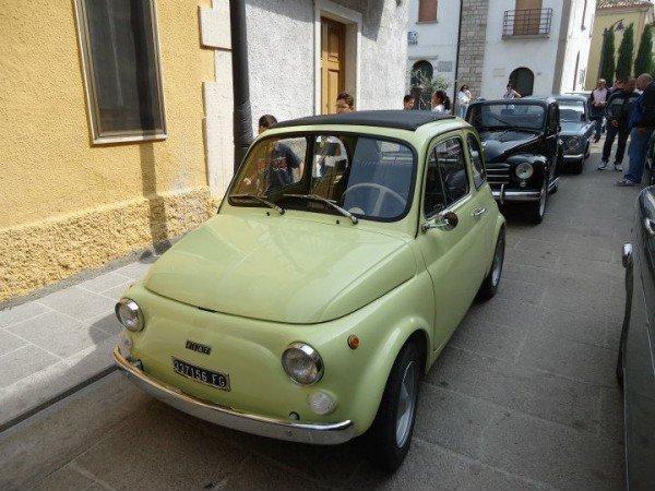 La Fiat Cinquecento di Domenico