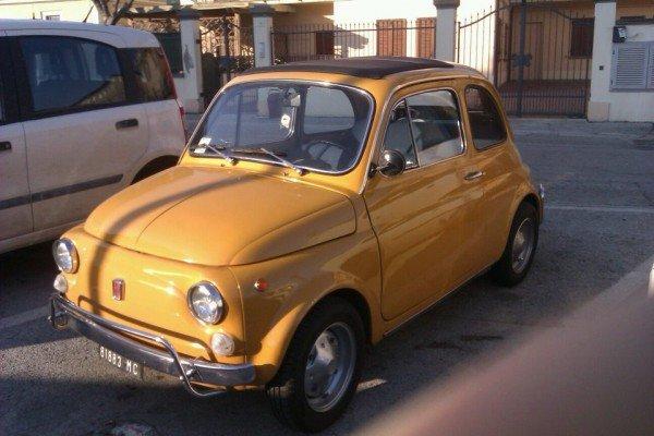 La Fiat 500 di mm77