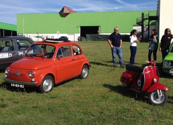 La Fiat 500F di Laranjameccanica