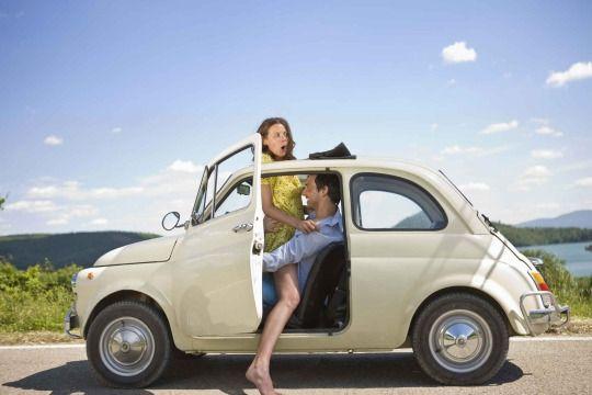 La prima volta … in Fiat 500