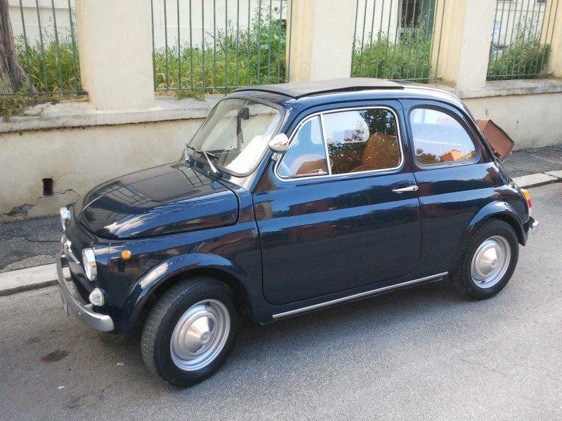 La Fiat 500 di Massimo