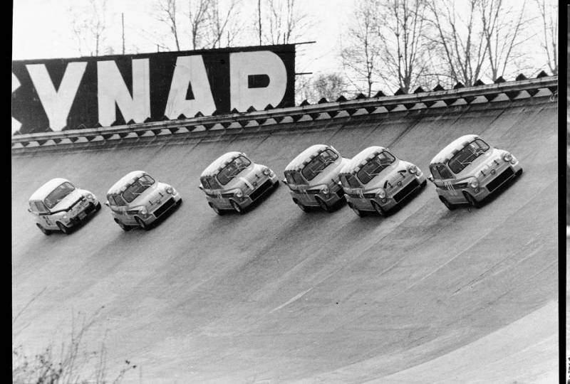Fiat 500 abarth a Monza