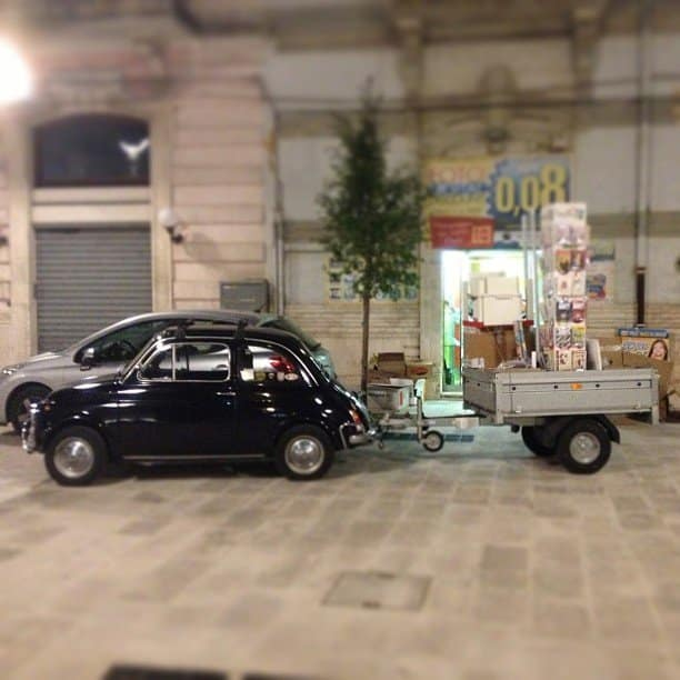 La Fiat 500 di giuseppe bz