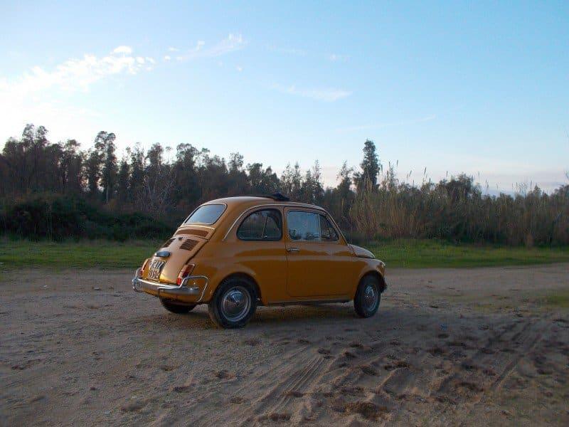 La Fiat Cinquecento di Silvia