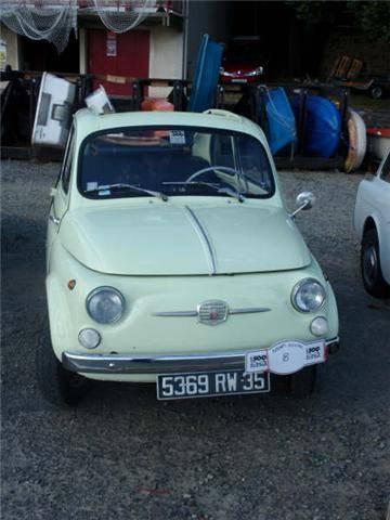 Fiat 500 di Alain Rubel