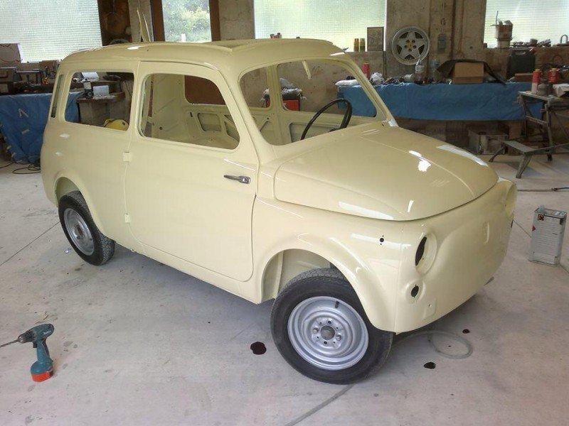 Fiat 500 Giardiniera de rubel maxime