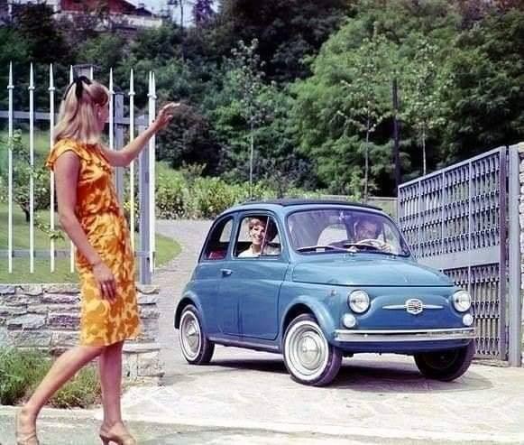Avete o cercate una Fiat 500 vecchia? Allora questo sito fa per voi!