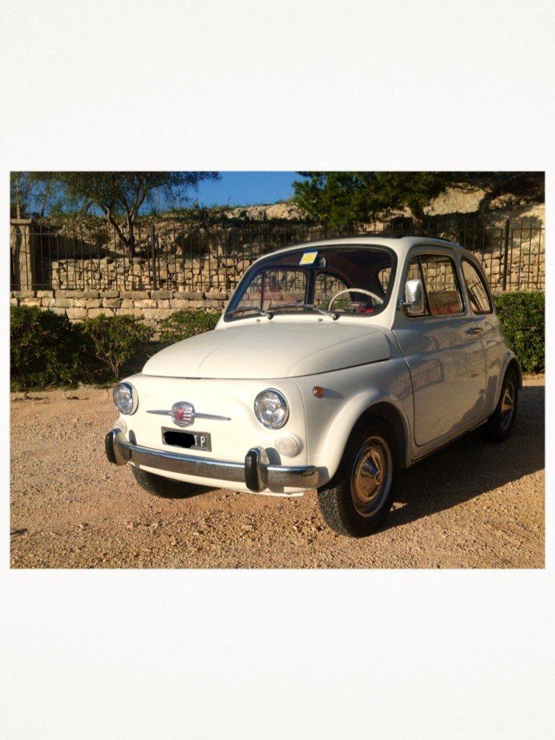 La Fiat cinquecento di Alesettetre