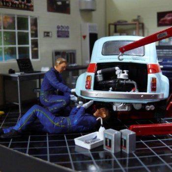 Il tagliando della Fiat 500 d'epoca
