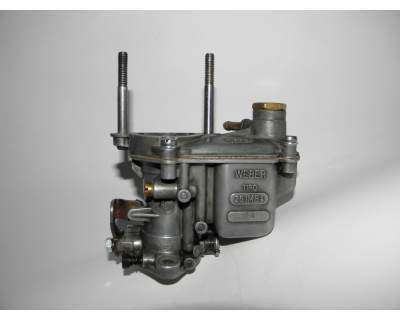 The carburetor of Fiat 500 engine: mixture, air, starter