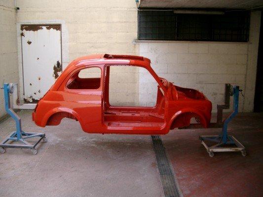 Restauro della Fiat 500
