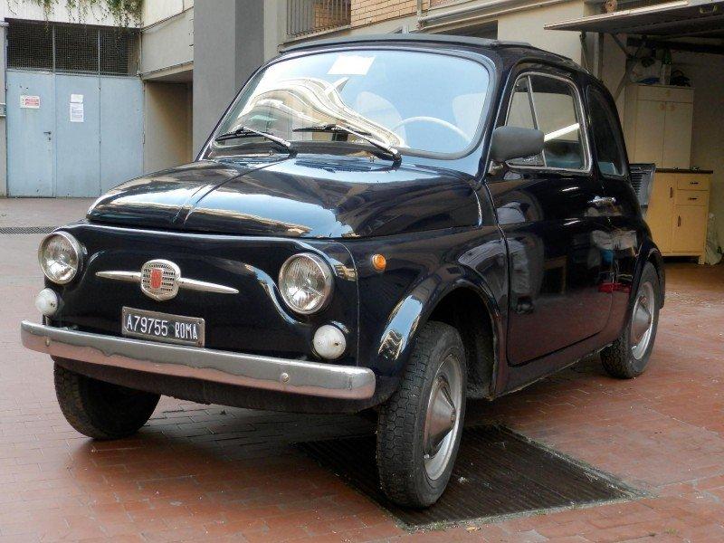 La Fiat 500 F di marcuscus