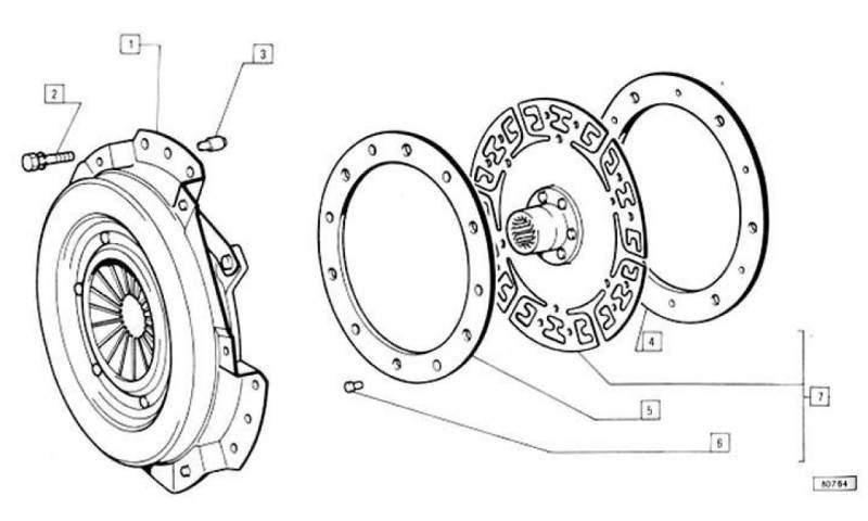 Schema Frizione Fiat 500