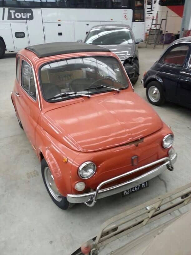 La Fiat 500 di Maurizio Perego