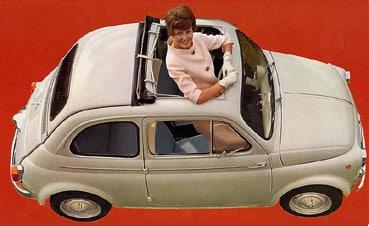 Storia della Cinquecento : La Fiat Nuova 500 D