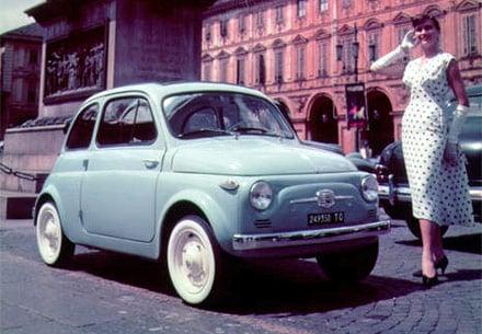 Storia della Cinquecento : La Nuova 500 (1957 – 1960)