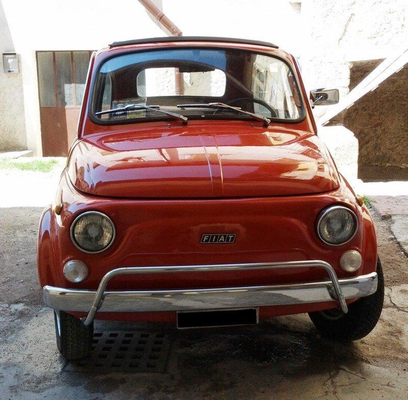 La Fiat 500 di topperarlei