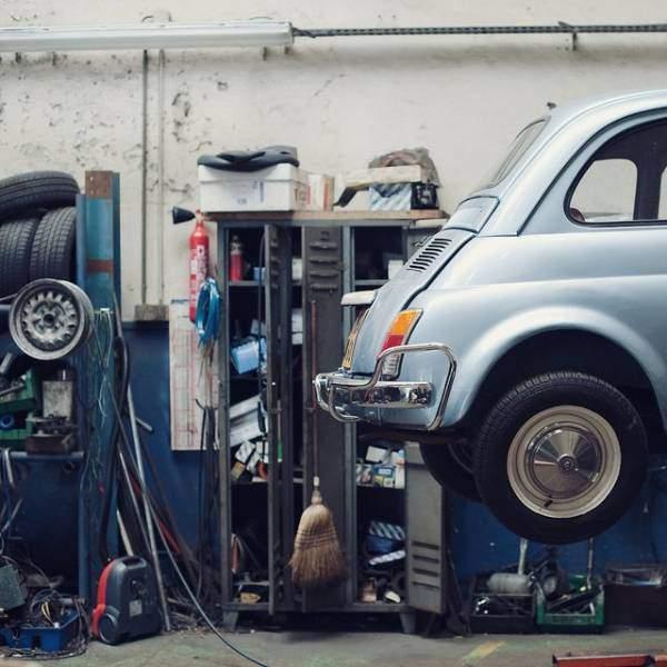 La Manutenzione della Fiat 500