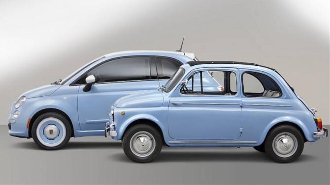 Fiat 500: Un duplice amore
