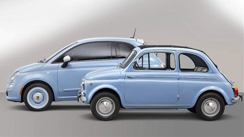 Fiat500 : un duplice amore