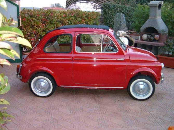 Restauro della Fiat 500 – Scoprire di che modello si tratta – La Fiat 500 D